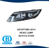KIA K5 2014 partes do corpo automático dos faróis 92401-2t500 92402-2t500