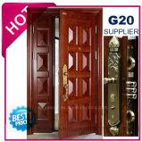 2017 Metal Exterior de qualidade superior da porta de segurança de aço (EF-S129B)