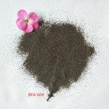 Порошок для пескоструйной обработки медиа-коричневого цвета оксид алюминия