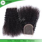 Di Aofa dei capelli chiusura riccia crespa superiore all'ingrosso della fabbrica direttamente