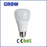 Gran cantidad de lúmenes CE RoHS aprobación 8W/10W/12W E27 regulable bombilla LED