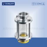 EPDM Junta Ss304 Tubular Sight Vidro Tempered Glass