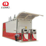 20FT simple paroi mobile Station de carburant diesel et essence