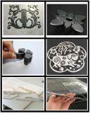 강철 제작을%s 둥근 관 사각 관 단면도 CNC 섬유 Laser 절단기