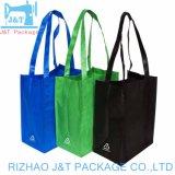Sac shopping non tissé recyclables sacs fourre-tout Avec Logo imprimé personnalisé