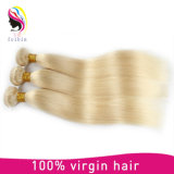 Bundels van het Menselijke Haar van de Kleur van de Blonde van de Verkoop van Bestting de Zijdeachtige Rechte