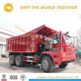 China Sinotruk HOWO Serie 6x4 cabina Offste//Camión Volquete de volcado de minería de datos
