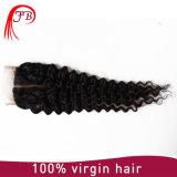 좋은 질 인간적인 레이스 4× 4개의 머리 깊은 파 머리