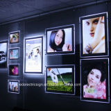 Crystal Slim LED Panel Light Box Acrylic Counter