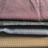 Normales Tuch-Gitterminimatt-nachgemachtes Leinengewebe für Kleid