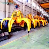 Высокая производительность гидравлического насыпных грузов захватов сыпучий материал для подъема