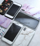 iPhone 5s 5 Se 6 6s 8 678 더하기 X 화강암은 대리석 돌 iPhone 7 케이스를 위한 심상에 의하여 그려진 실리콘 전화 상자를 제거한다