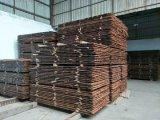 Revestimento de bambu ao ar livre carbonizado do Decking da cor