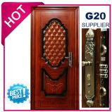 2017 Metal Exterior de qualidade superior da porta de segurança de aço (EF-S057)