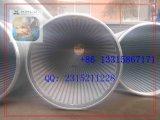 ステンレス鋼の螺線形スクリーンの管のAnpingの工場
