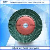 Tapa la tapa de óxido de aluminio pulido de discos abrasivos disco