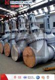 Dn700 PN16 Lcb fundición de acero de gran tamaño de la válvula de compuerta