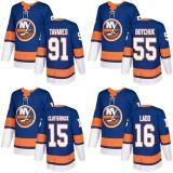 2018 Nova Marca Ad Homens Mulheres Kid New York Islanders 91 João Tavares 55 Johnny Boychuk 15 Cal Clutterbuck Andrew Ladd qualquer nome personalizado azul & N. Hockey camisolas