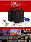 Gerador de bateria portátil com carregador de energia solar de peças com marcação CE/FCC/RoHS