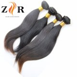 Trama brasileira ondulada frouxa desenhada natural do cabelo da cor natural