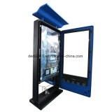 55inch 스크린을 광고하는 옥외 벽 마운트 LCD