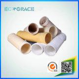 Luva de filtro de fibra de vidro Industrial de cimento para filtração de fumo