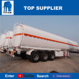 Titaan 45000 Liter van de Aanhangwagens van het Diesel Roestvrij staal van de Tanker voor Verkoop