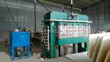 máquina caliente de la prensa de los 4X8FT para la madera contrachapada laminada del suelo
