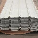 Строительный материал Prepainted цвет оцинкованного листа крыши из гофрированного картона 0.12мм