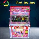 말레이지아 동전에 의하여 운영하는 사탕 집 기중기 클로 아케이드 게임 기계