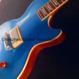 Cuerpo de una pieza de guitarra eléctrica azul con diapasón de ébano (GP-31)
