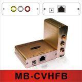 O Vídeo composto / áudio Hi-Fi estéreo Balun (MB-CVHFB)