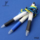 Plástico de la promoción de la fábrica 2 en 1 pluma del regalo de la tinta del color