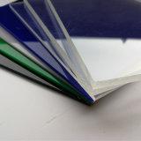 Hoja de acrílico transparente de color blanco Material de construcción