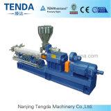 Machine en plastique d'extrudeuse de système de pelletisation du brin Tsh-65