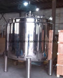 Tanque de mistura química de aço inoxidável