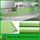 Porta de PVC barato armário de cozinha modernos de alta qualidade