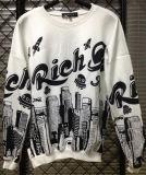 Groothandel Fashion Printing Long Sleeve Mannen T-shirts