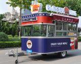 Передвижной трейлер еды с по-разному оборудованием доставки с обслуживанием и красивейшей конструкцией