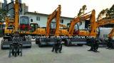 Excavadores de la rueda para el cargador de madera de /Sugarcane con el brazo largo