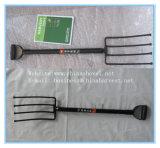 Вилка вилки сада вилки стальная с стальными ручкой и сжатием