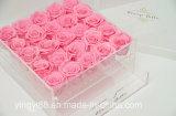 Kundenspezifischer freier wasserdichter quadratischer Rosen-acrylsauerkasten