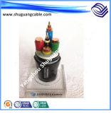 Le cable électrique de Multi-Core/0.6/1kv/Cu/XLPE/Swa/PVC fabrique