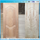 Raal natural Sapeli chapeó la piel de la puerta/la madera contrachapada moldeada del panel de la puerta