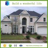 Casa de campo moderna modular pré-fabricada elegante de aço clara da casa das HOME