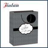 Nueva bolsa de papel diaria tejida del regalo de las compras del papel revestido del diseño