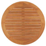 Table en bois naturel moderne haut de page (TT-03)