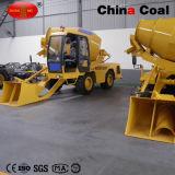 2.5 CBMの具体的な区分のプラント中国の小型具体的なミキサーのトラック