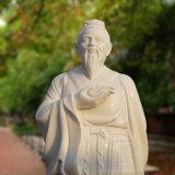 중국 고명한 고대 의학 대리석 조각품 T-6976의 동상