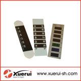 Faixa de Termómetro testa LCD líquido